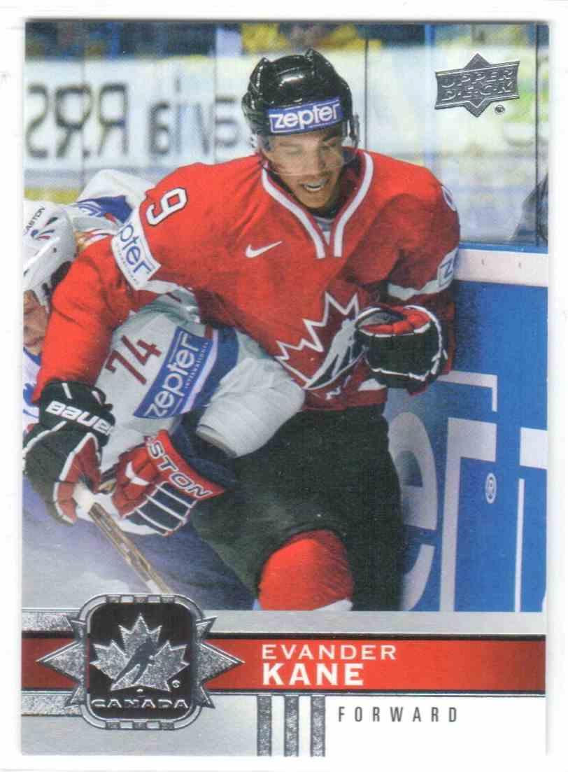 2017-18 Upper Deck Team Canada Canadian Tire Evander Kane #40 card front image