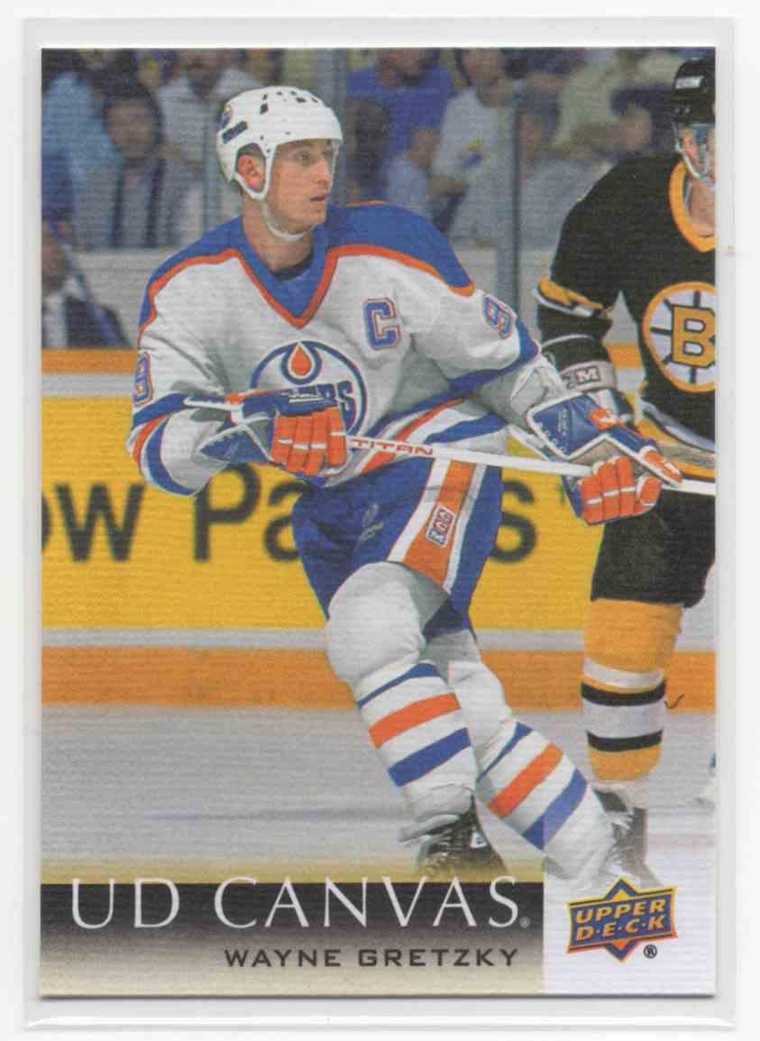 2018-19 Upper Deck Canvas Retired Stars Wayne Gretzky #C246 card front image