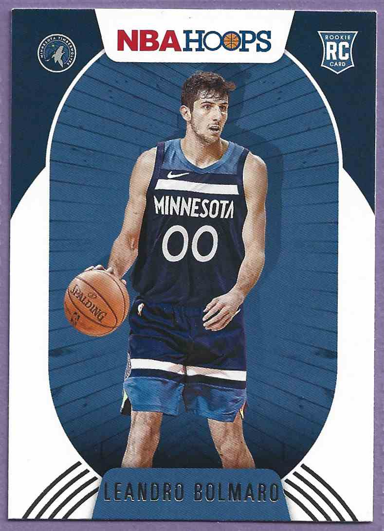 2020-21 Hoops Leandro Bolmaro #247 card front image