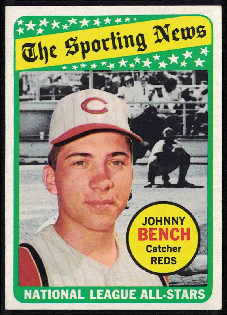 1969 Topps Johnny Bench All-Star NM #430 card front image