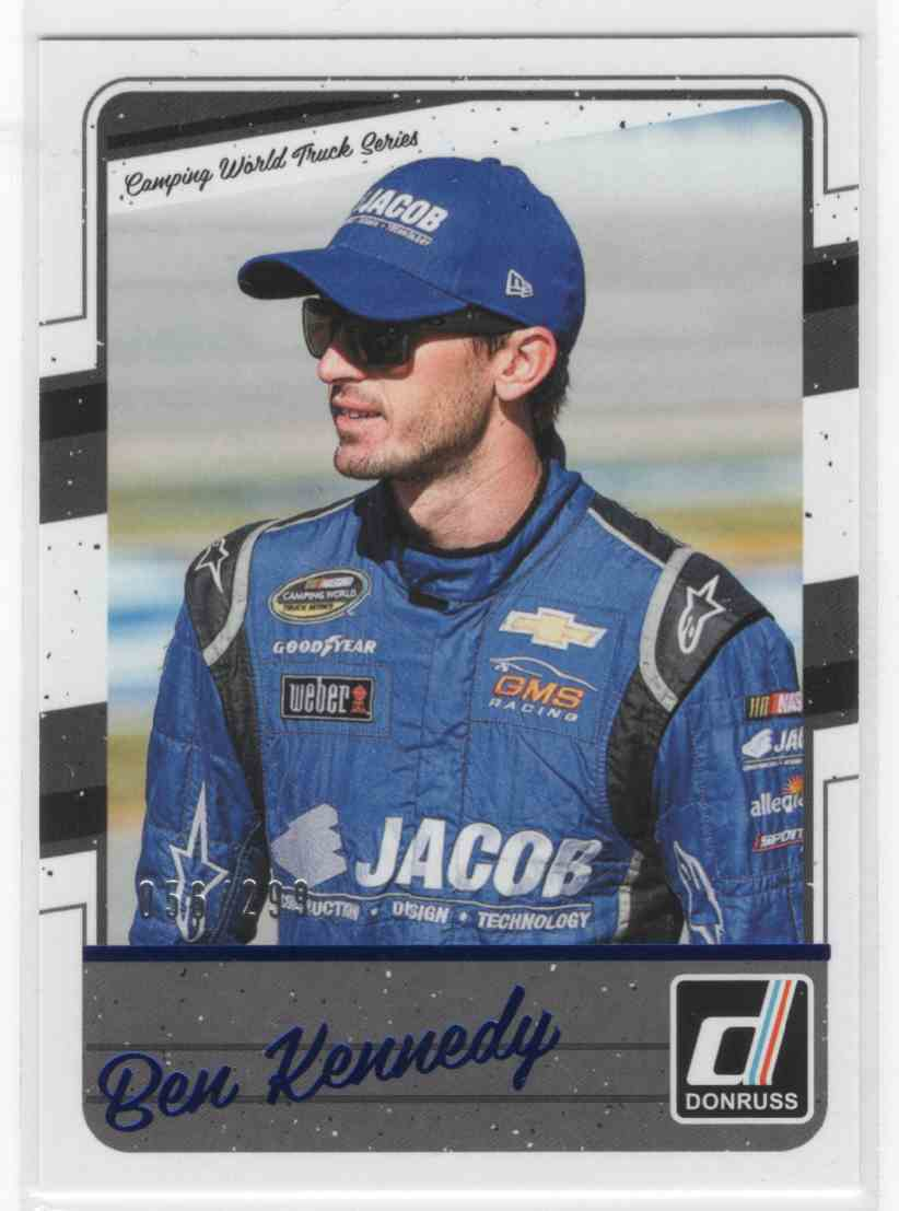 2017 Panini Donruss Racing Ben Kennedy #85 card front image