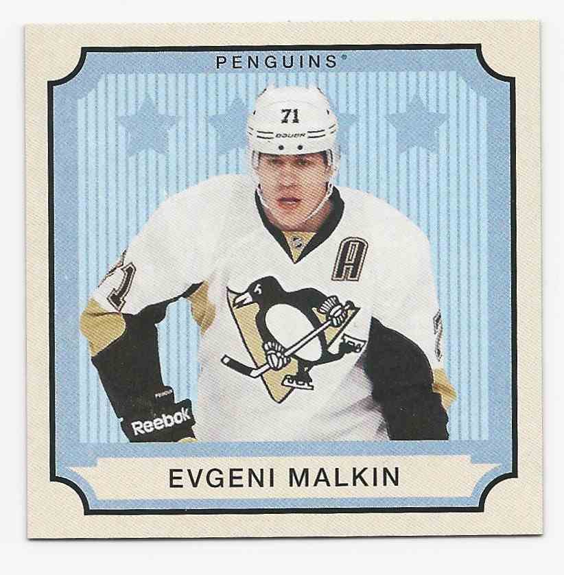 2014-15 O-Pee-Chee V Series A Evgeni Malkin #S-35 card front image