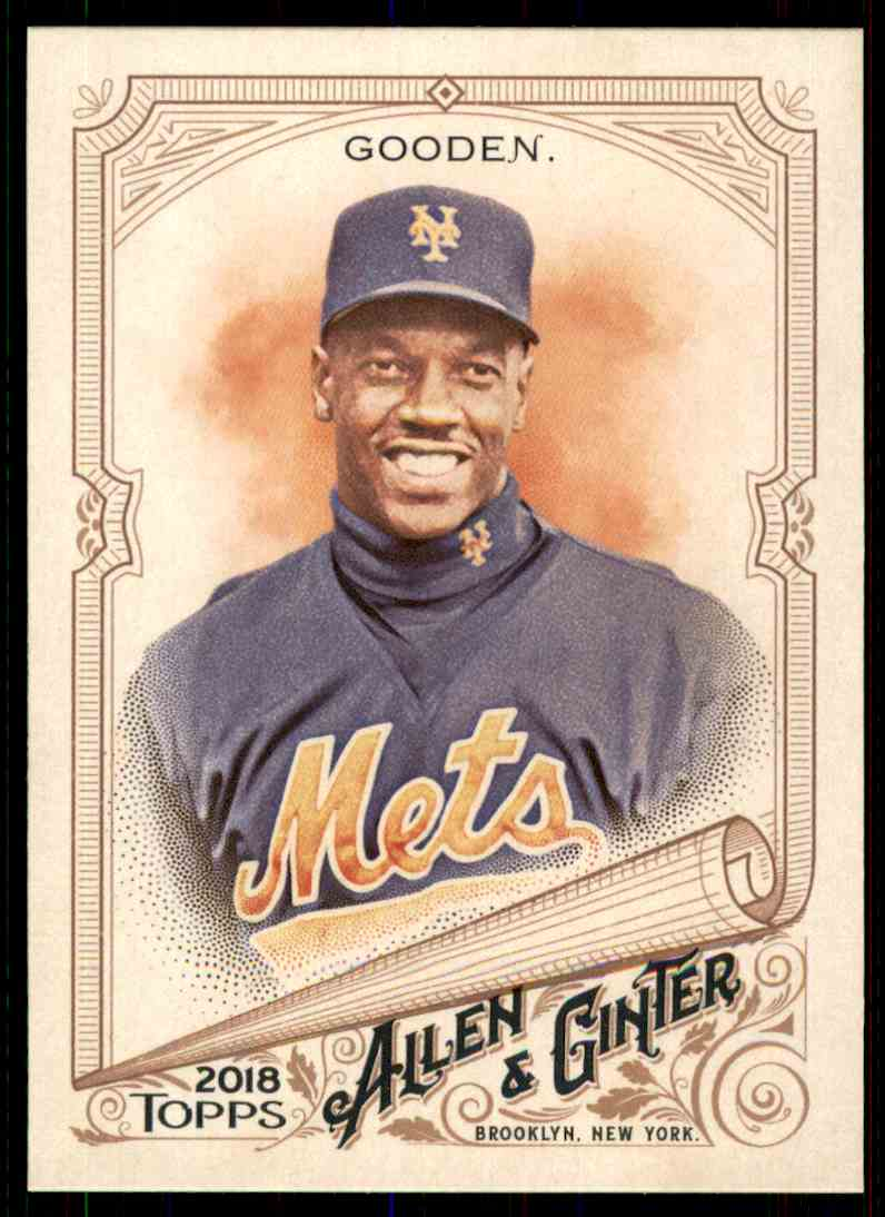 2018 Topps Allen & Ginter Dwight Gooden #346 card front image