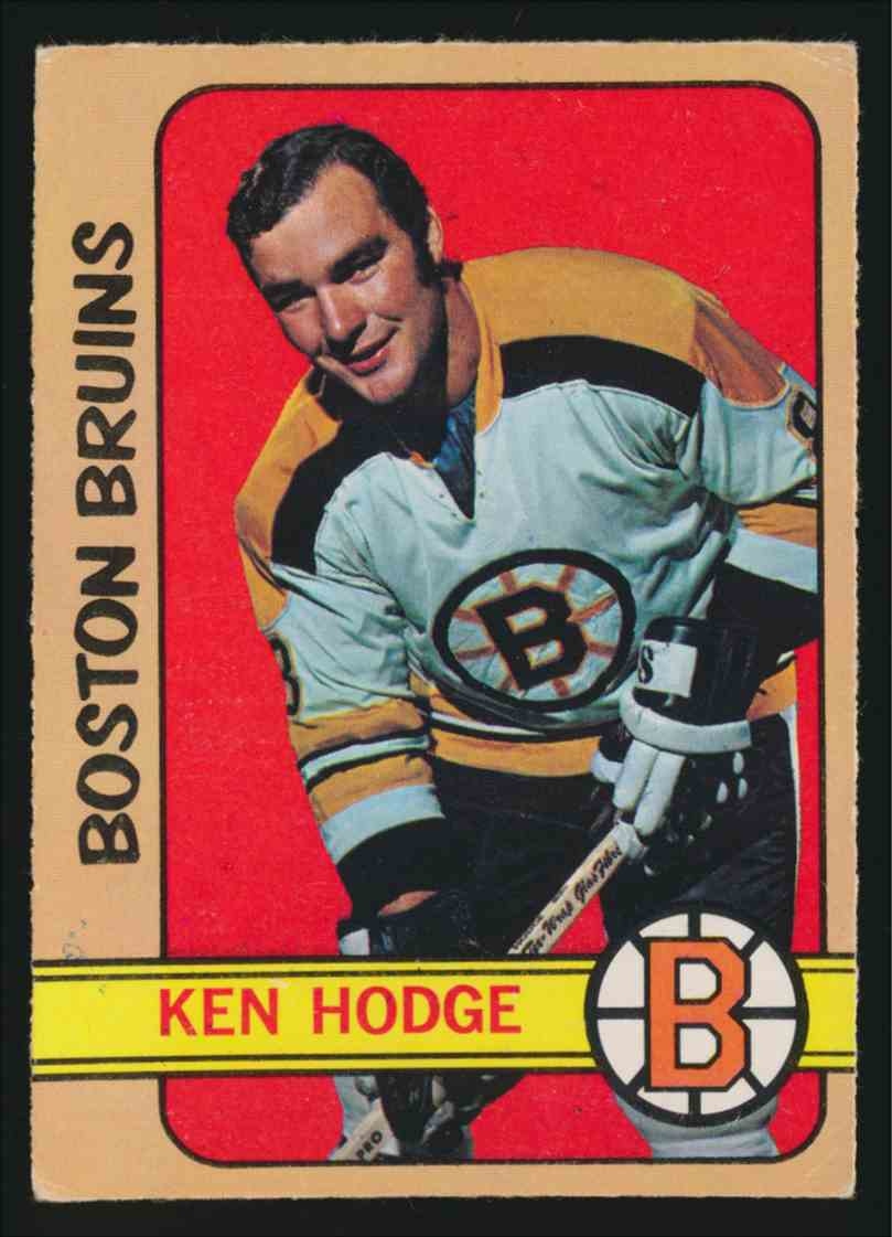 1972-73 0-Pee-Chee Ken Hodge - Vg EX #49 card front image