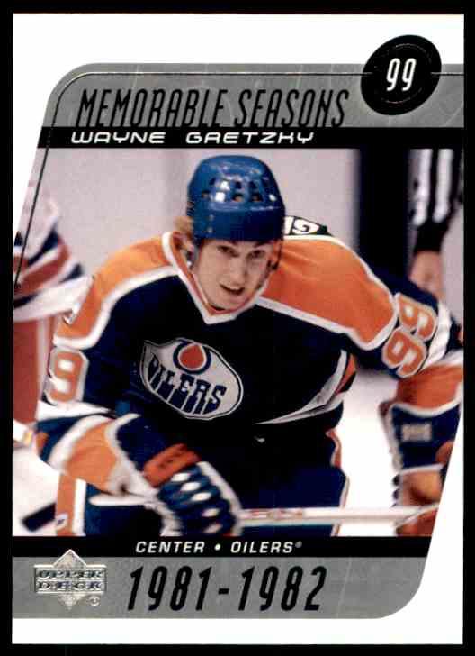 2002-03 Upper Deck Wayne Gretzky Ms #188 card front image