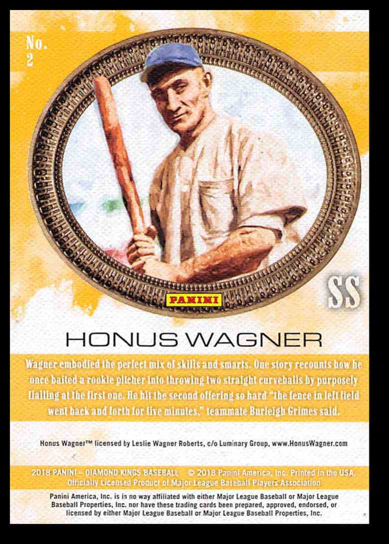 2018 Panini Diamond Kings Honus Wagner #2 on Kronozio
