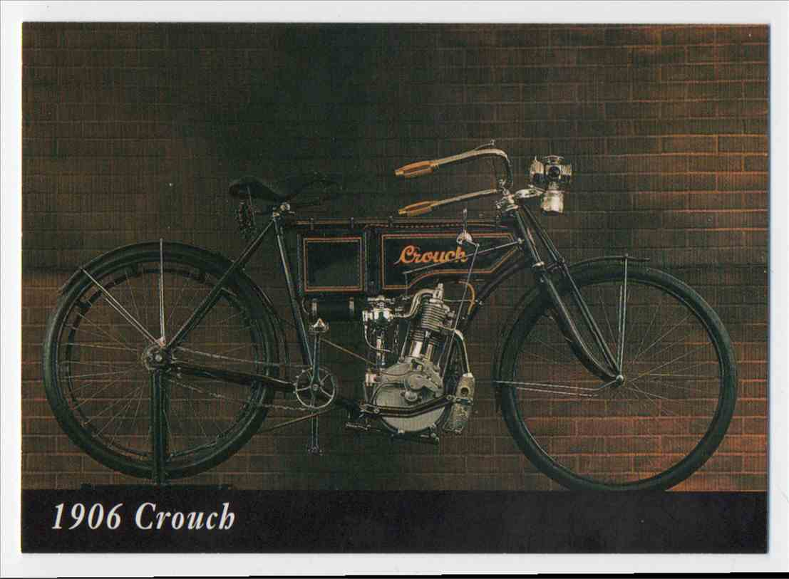 1993 InLine 1906 Crouch #11 card front image
