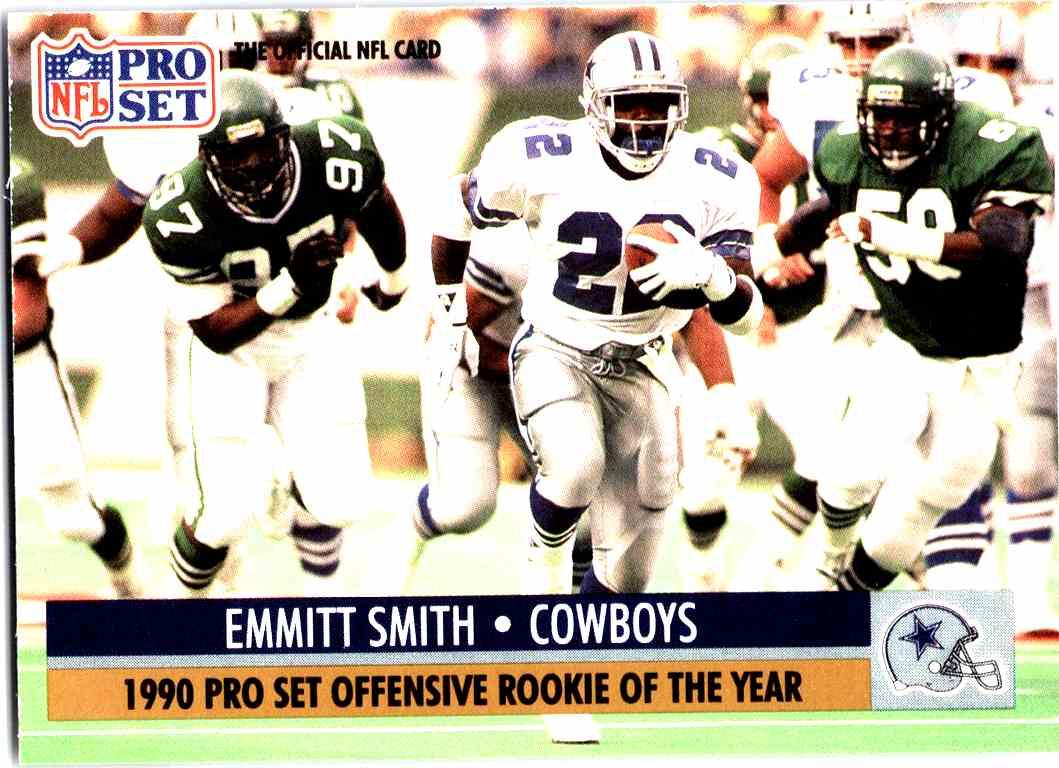 1991 Pro Set Emmitt Smith 1o On Kronozio
