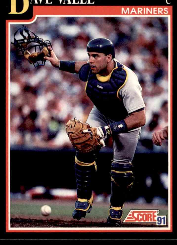 1991 92 Score Mlb Baseball Dave Valle 262 On Kronozio