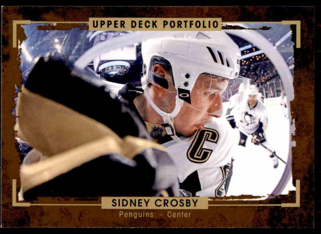 2015-16 Upper Deck Portfolio Sidney Crosby #127 card front image