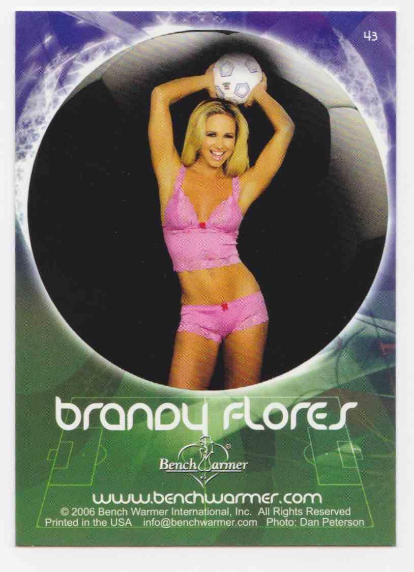 2006 Bench Warmers Women Tarjeta de fútbol Copa recoger World BenchWarmer