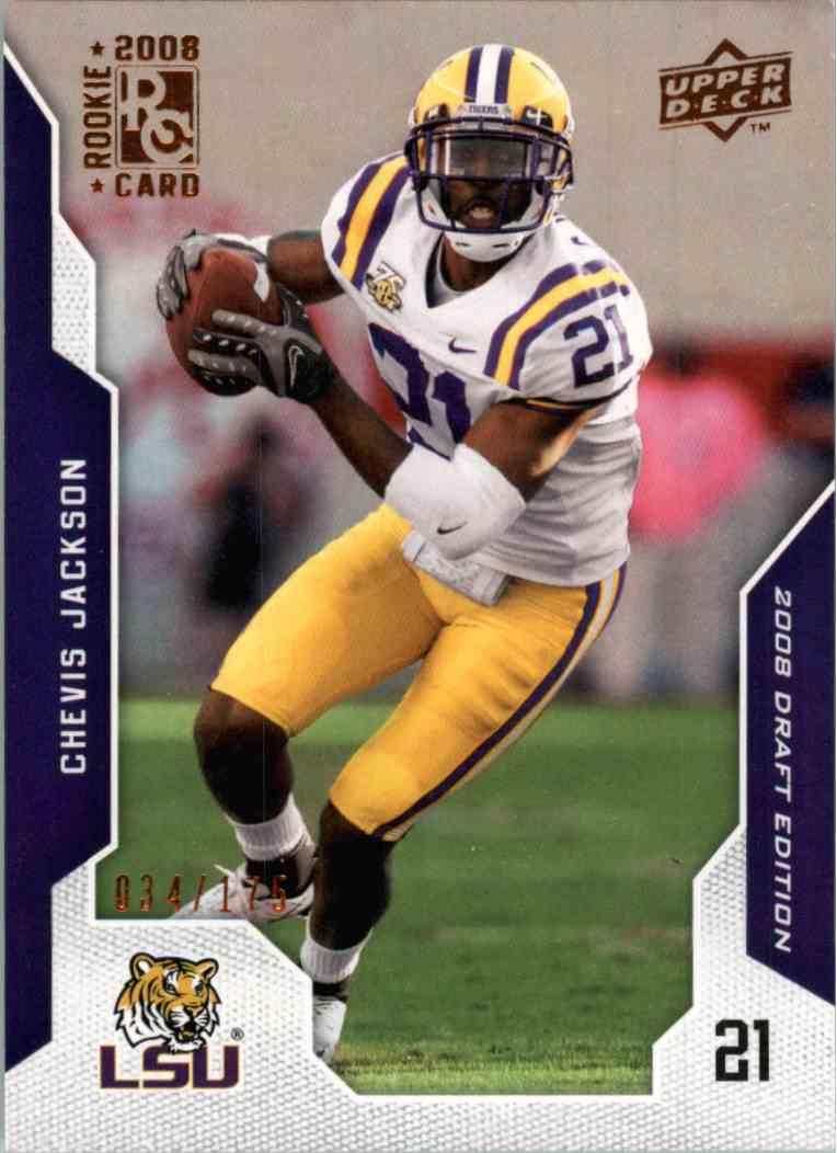 2008 Upper Deck Chevis Jackson #13 card front image