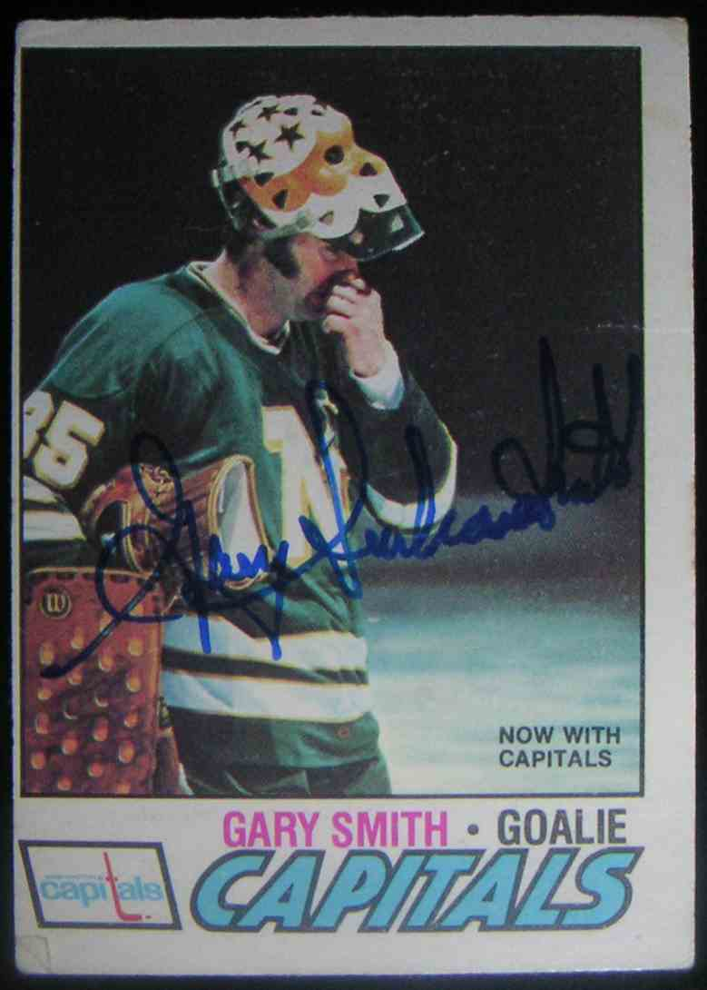 1977-78 O-Pee-Chee Gary Smith #184 card front image