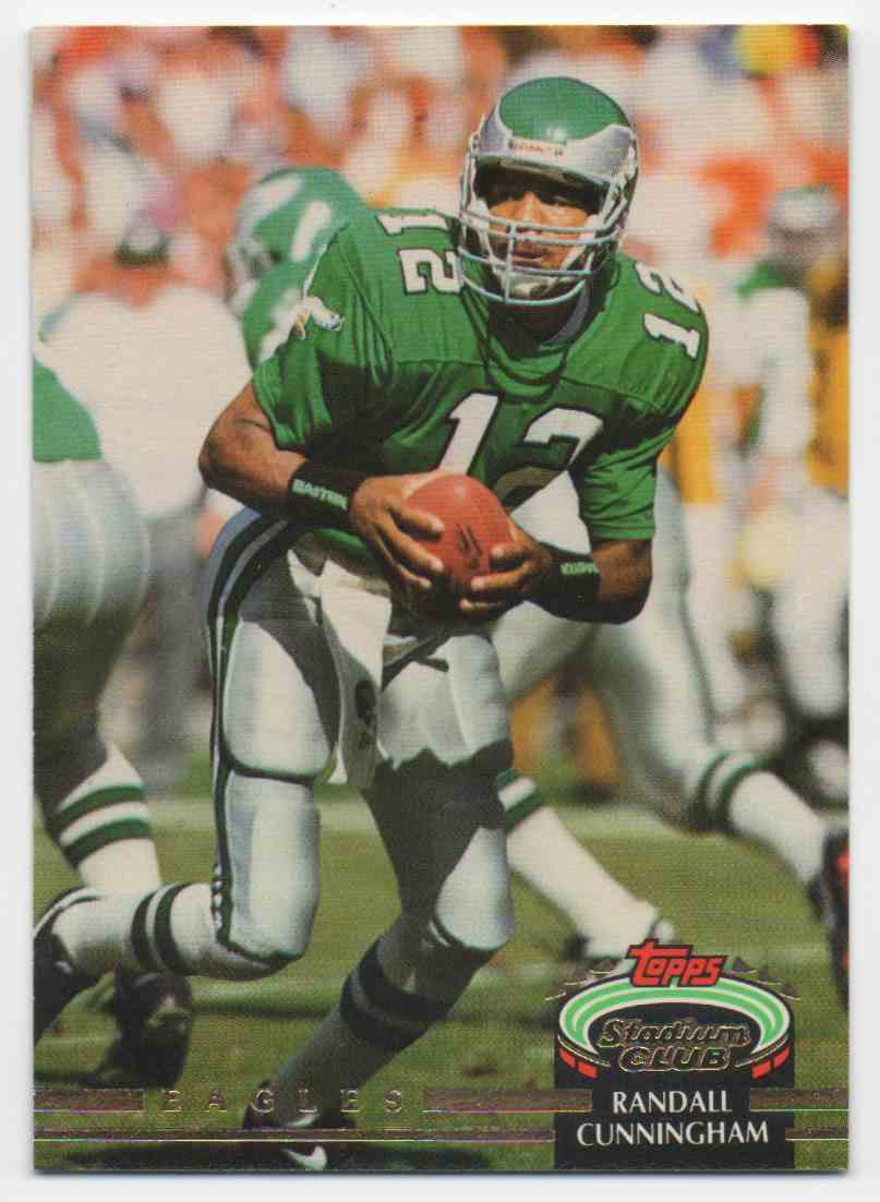 1992 Stadium Club Randall Cunningham #639 card front image