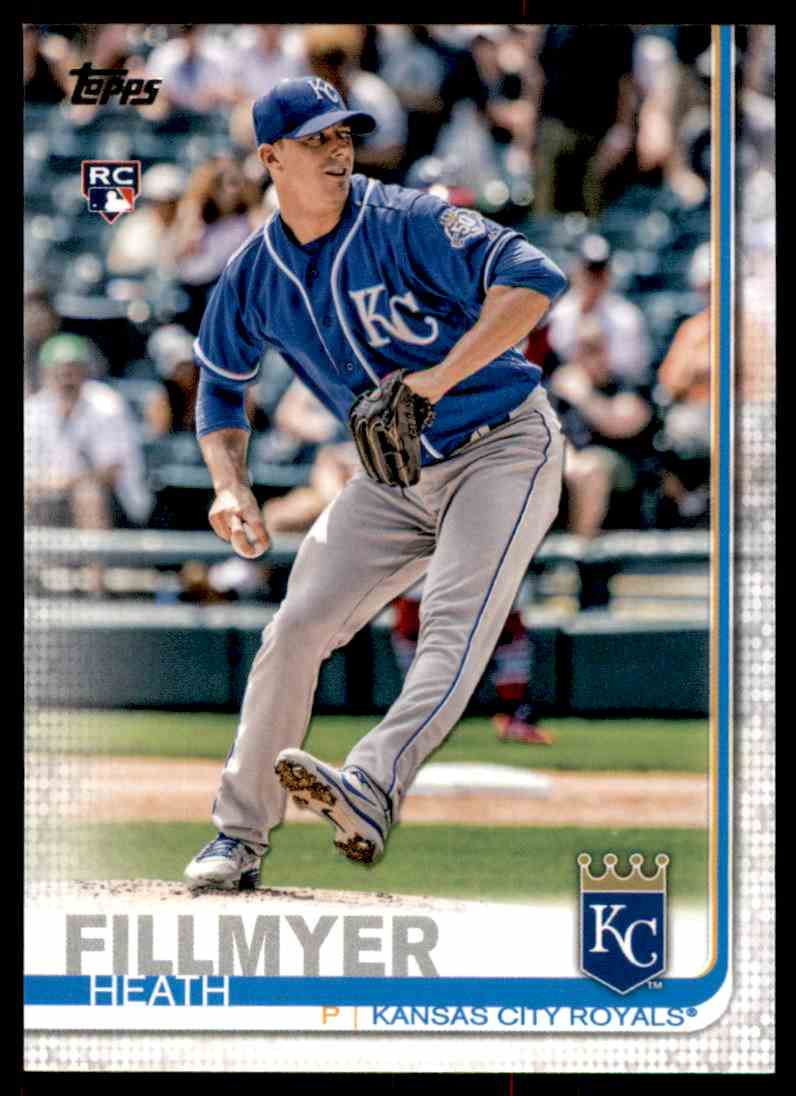 2019 Topps Heath Fillmyer #326 card front image