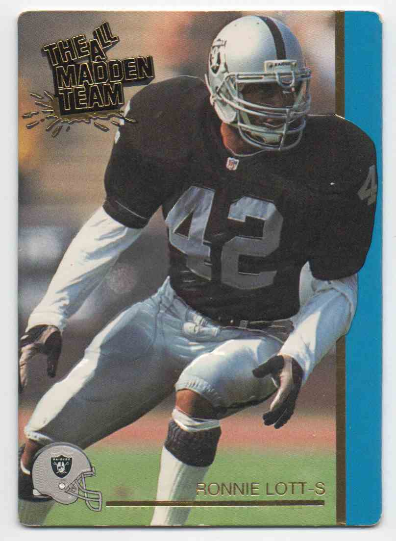 best service c8092 2b104 1992 Action Packed All-Madden Team Ronnie Lott #26 on ...
