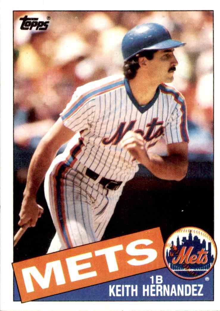 1985 Topps Keith Hernandez 80 On Kronozio
