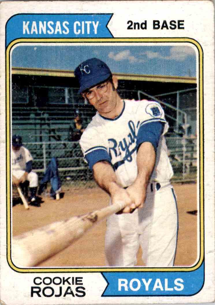 1974 Topps Cookie Rojas 278 On Kronozio