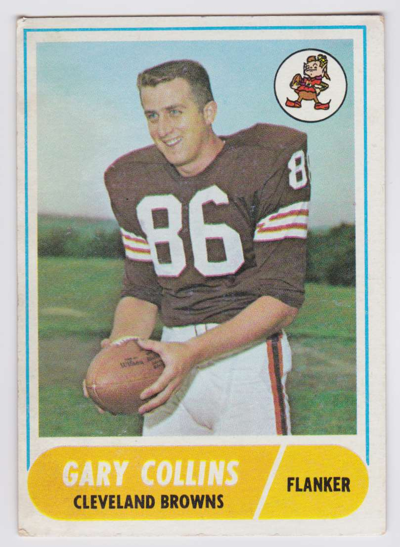 1968 Topps Gary Collins #39 card front image