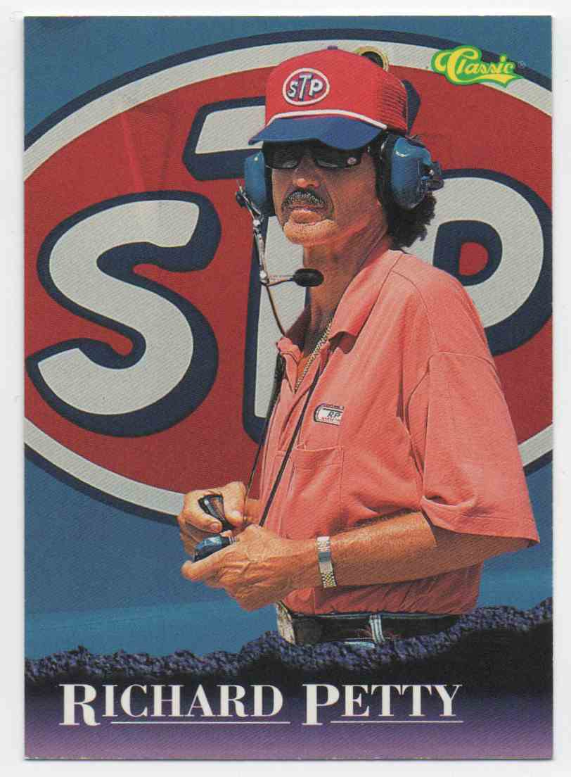1996 Classic Richard Petty #12 card front image