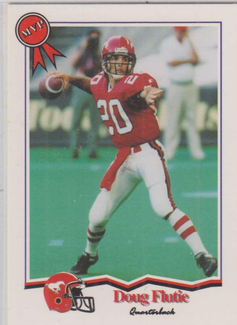 1994 Jogo CFL Doug Flutie MVP #91 card front image
