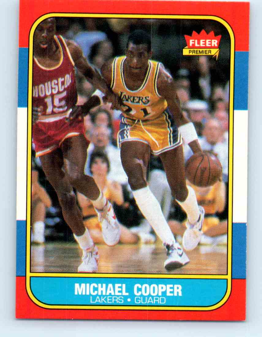 31 Michael Cooper trading cards for sale
