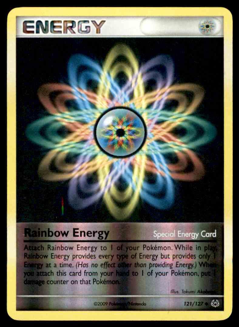 Pokémon 121//127 arco iris-energía-reverse Holo