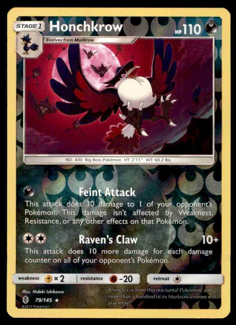Pokemon MINIOR 77//145 RARE REVERSE HOLOFOIL MINT CARD