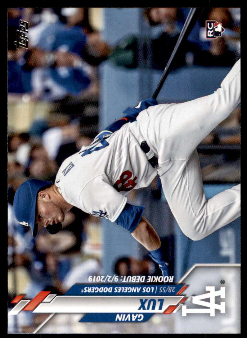 2020 Topps Update Gavin Lux #U-234 card front image