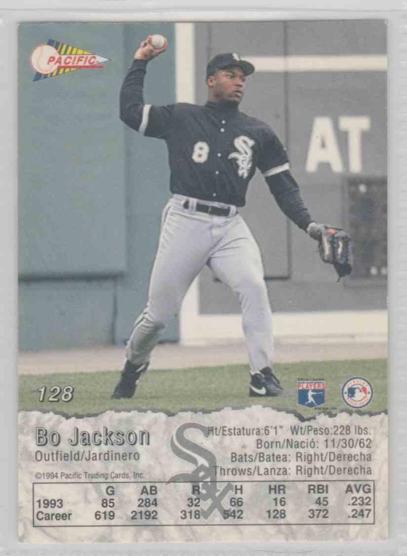 1993 Pacific Bo Jackson 128 On Kronozio