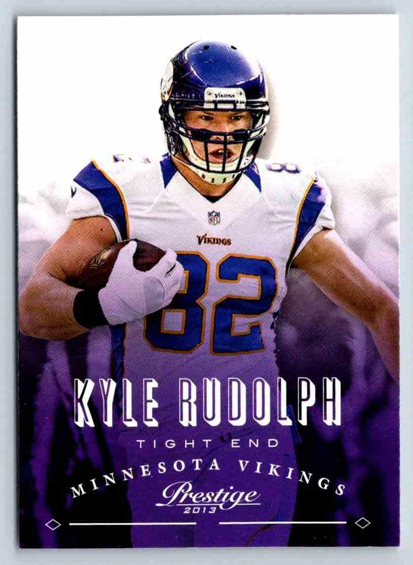 2013 Prestige Kyle Rudolph #111 card front image