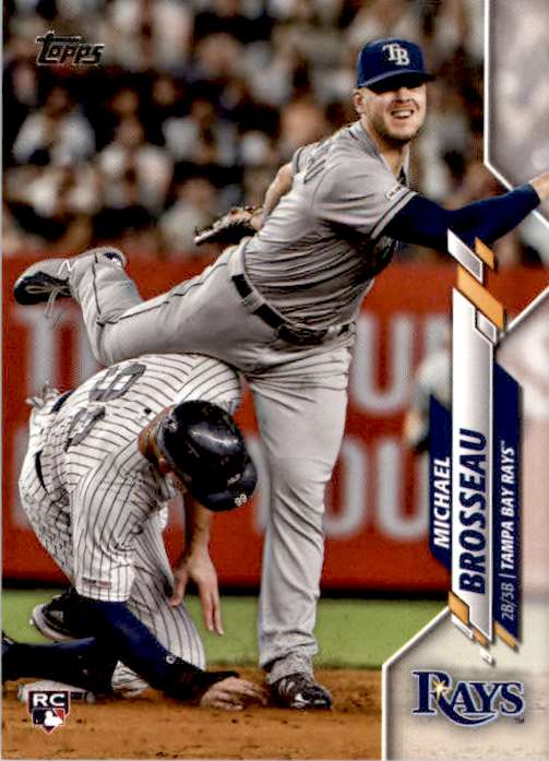 2020 Topps Series 1 Michael Brosseau #133 card front image