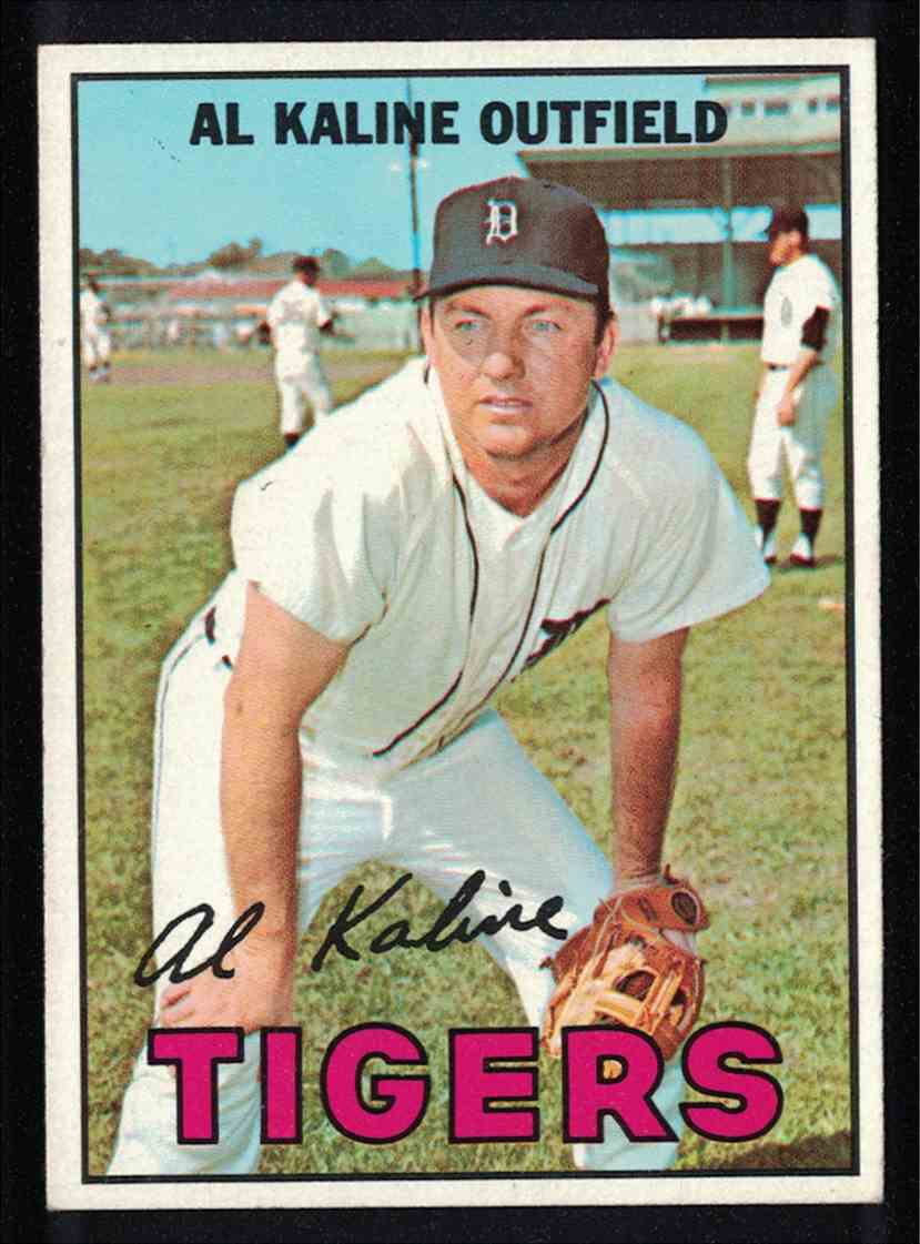 1967 Topps Al Kaline NM #30 card front image