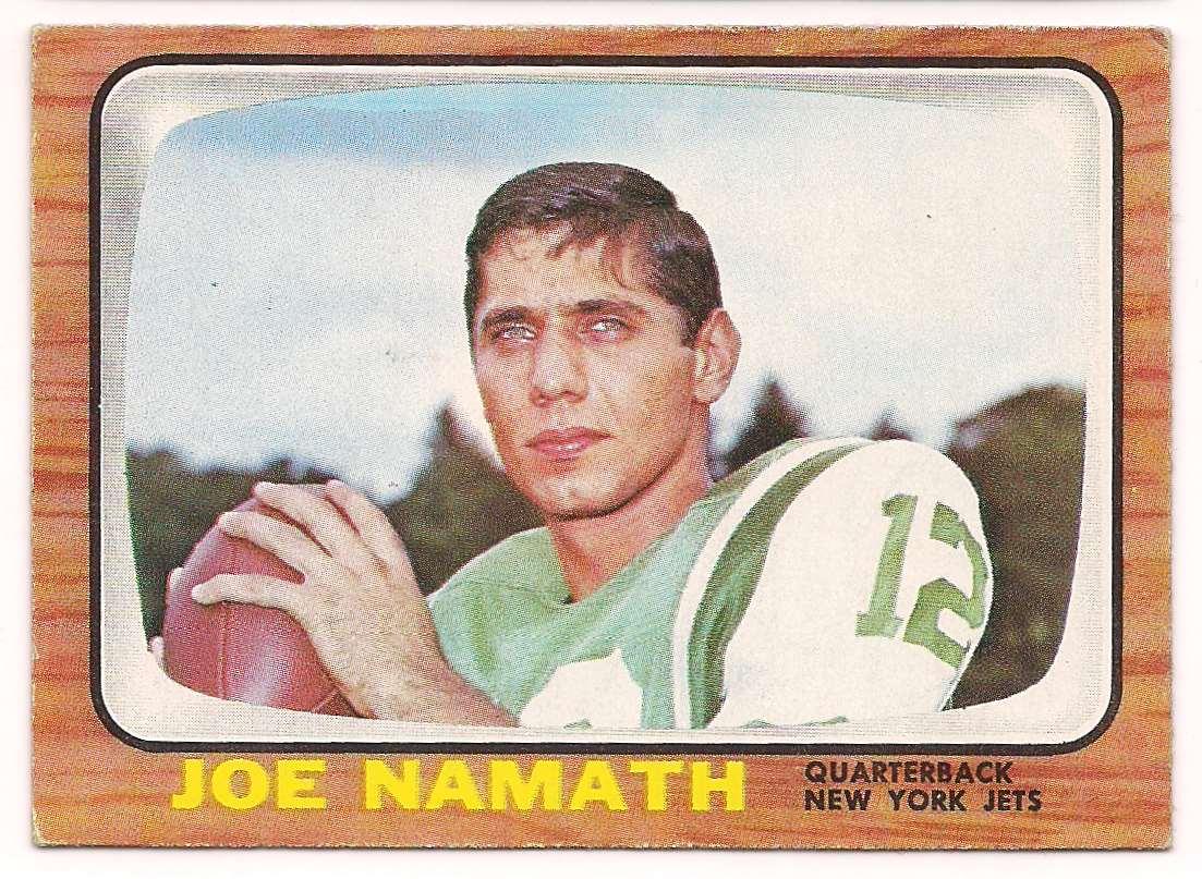 1966 Topps Joe Namath #96 card front image