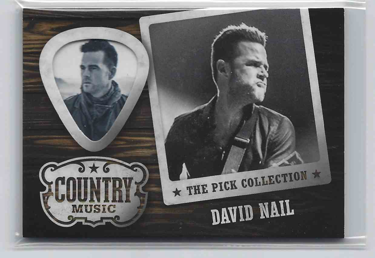 2015 Country Music Pick Collection David Nail #50 card front image