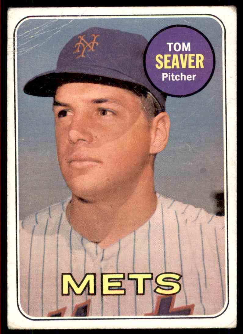1969 Topps Tom Seaver #480 card front image