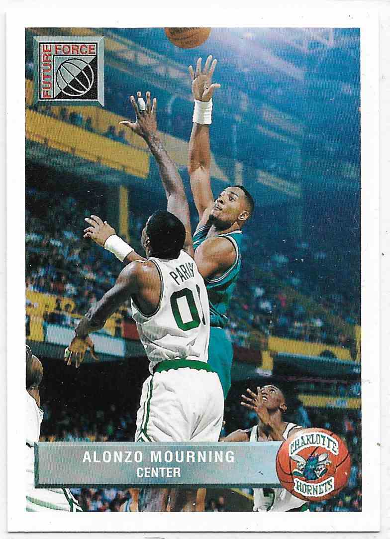 1993-94 Upper Deck McDonald Alonzo Mourning #P44 card front image
