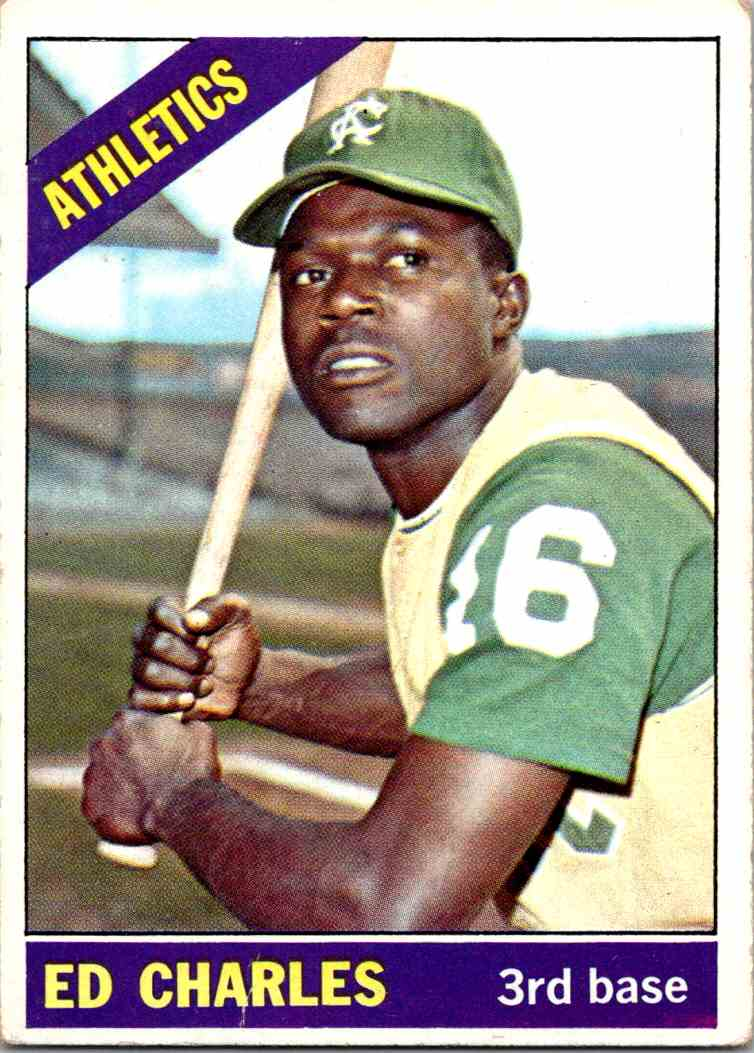 1966 Topps Ed Charles #422 card front image