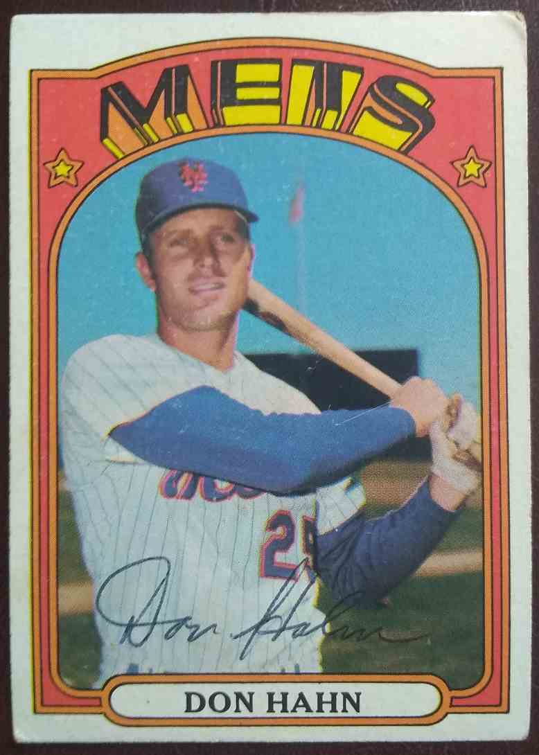 1972 Topps Don Hahn #269 card front image