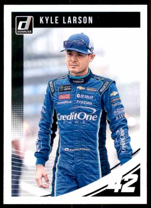 2019 Donruss Kyle Larson #70 card front image