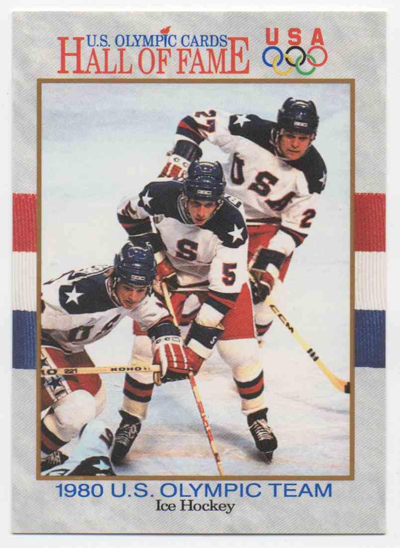 1991 Impel U.S. Olympic Hall Of Fame Strobel, Ramsey, & Verchota #62 card front image