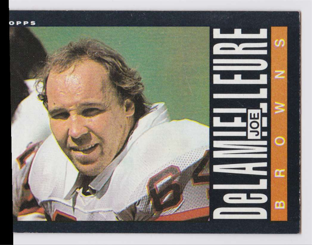 1965 Topps Joe De Lamielleure #226 card front image