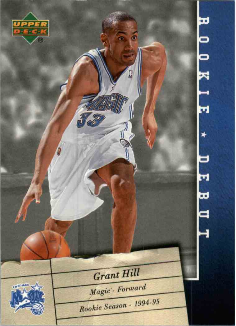 2007 08 Upper Deck Rookie Debut Grant Hill 67 On Kronozio
