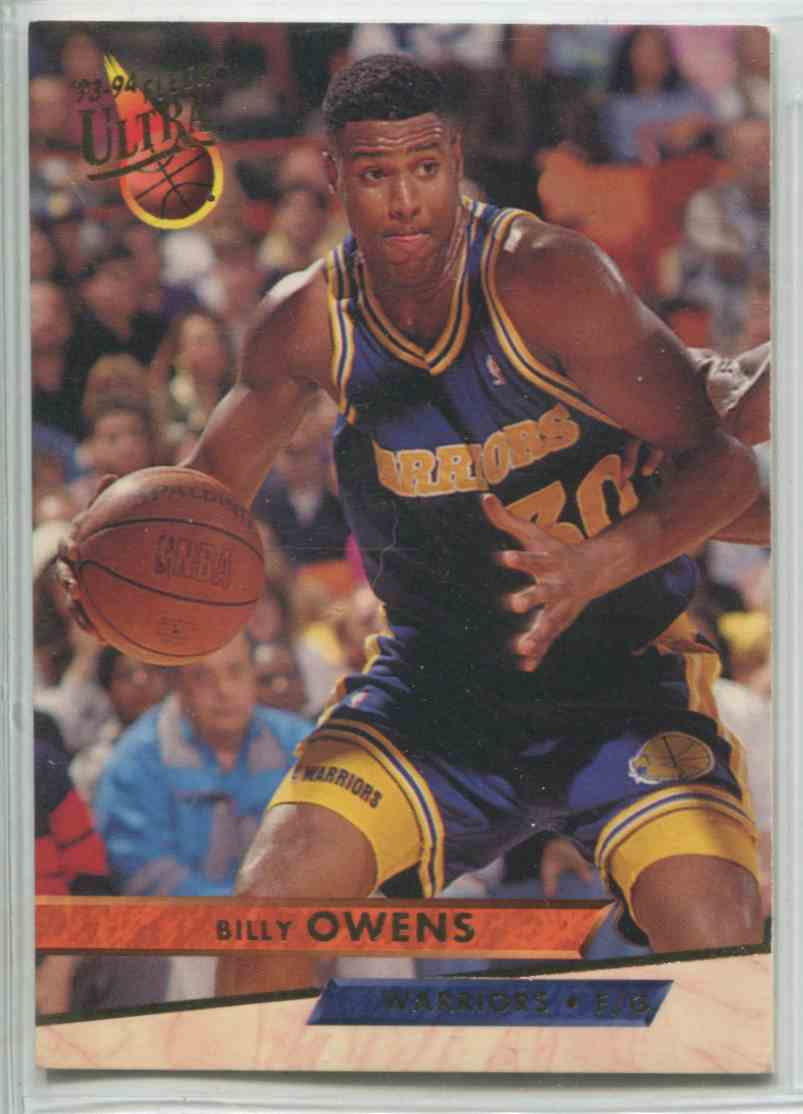1993 94 Fleer Ultra Billy Owens 69 on Kronozio