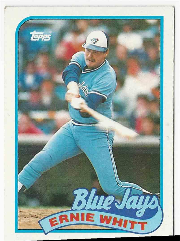 1987 Topps Ernie Whitt #289 card front image