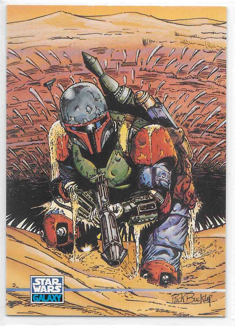 1995 Star Wars Galaxy Series 3 Boba Fett Sarlacc Pit Base