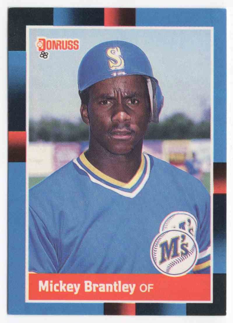 1988 Donruss Mickey Brantley #610 card front image