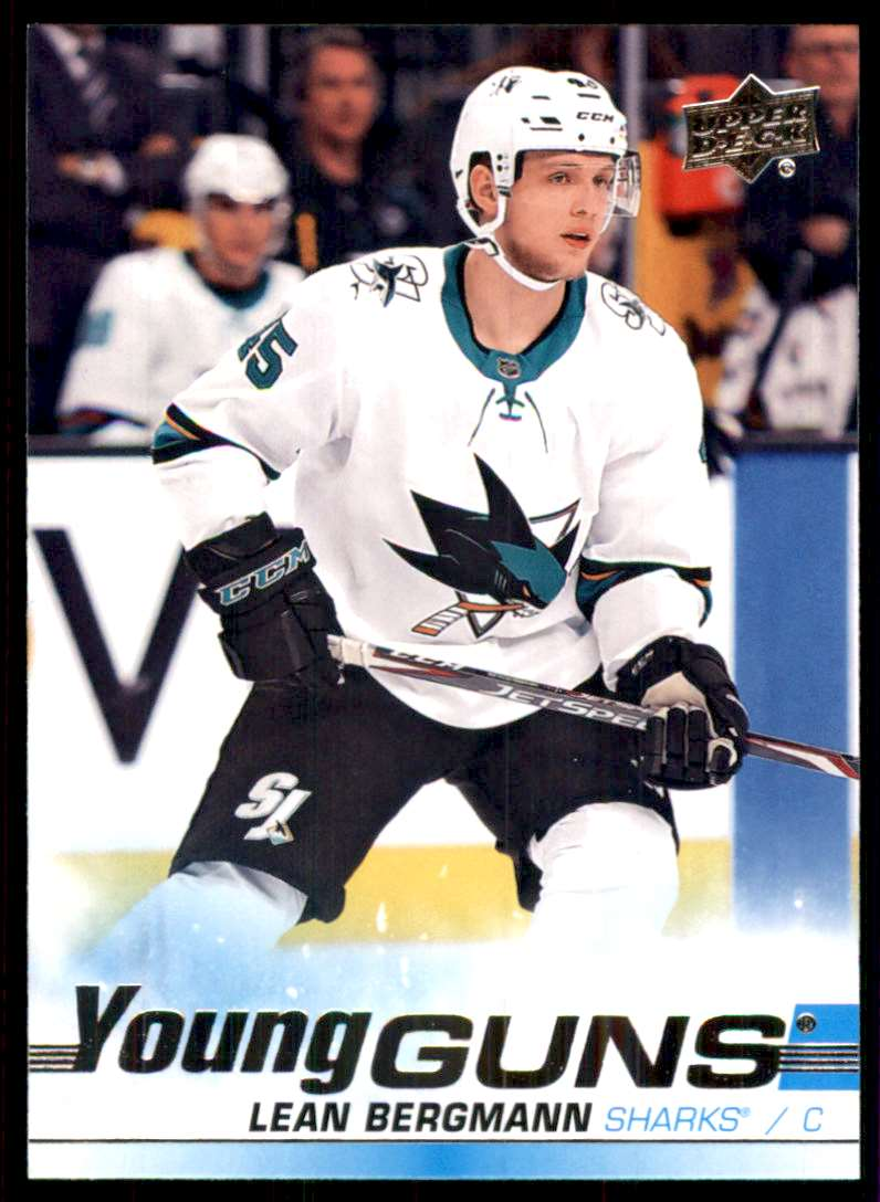 2019-20 Upper Deck Lean Bergmann Yg RC #245 card front image