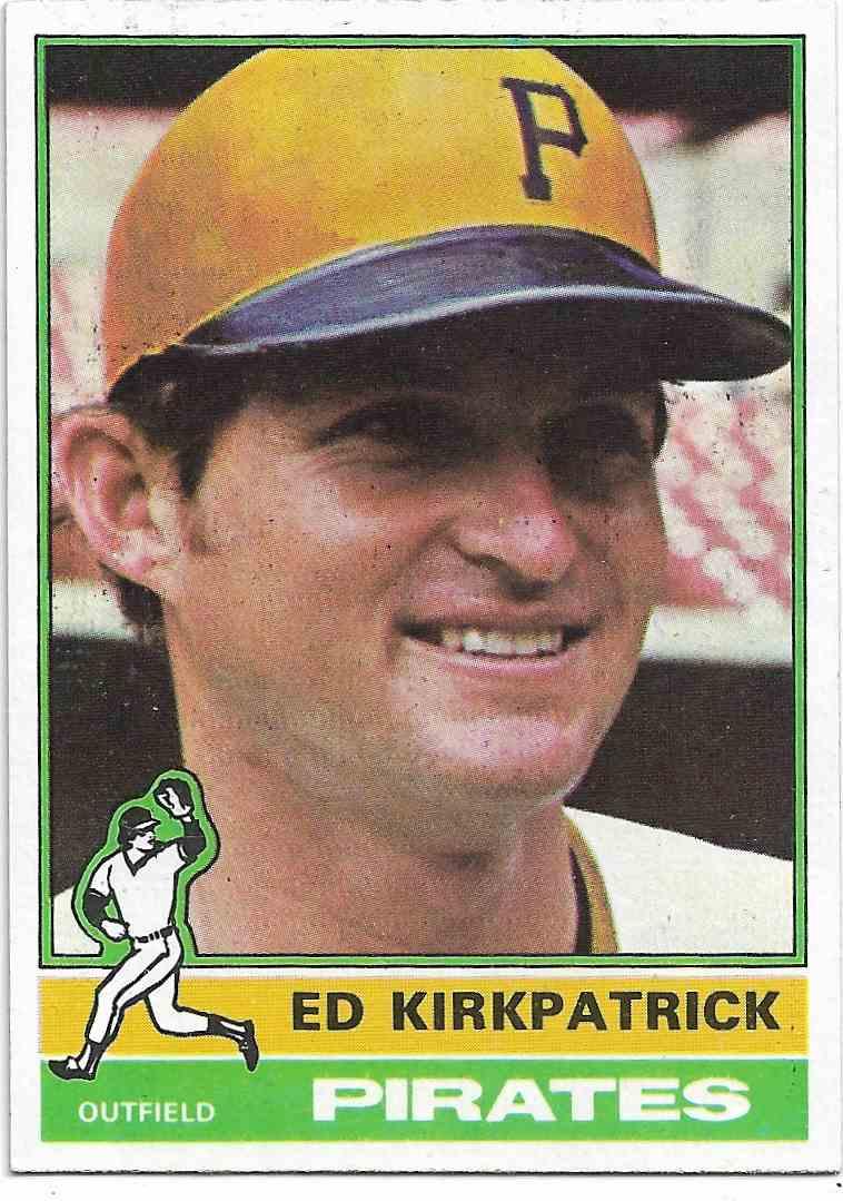 1876 Topps Ed Kirkpatrick #294 card front image