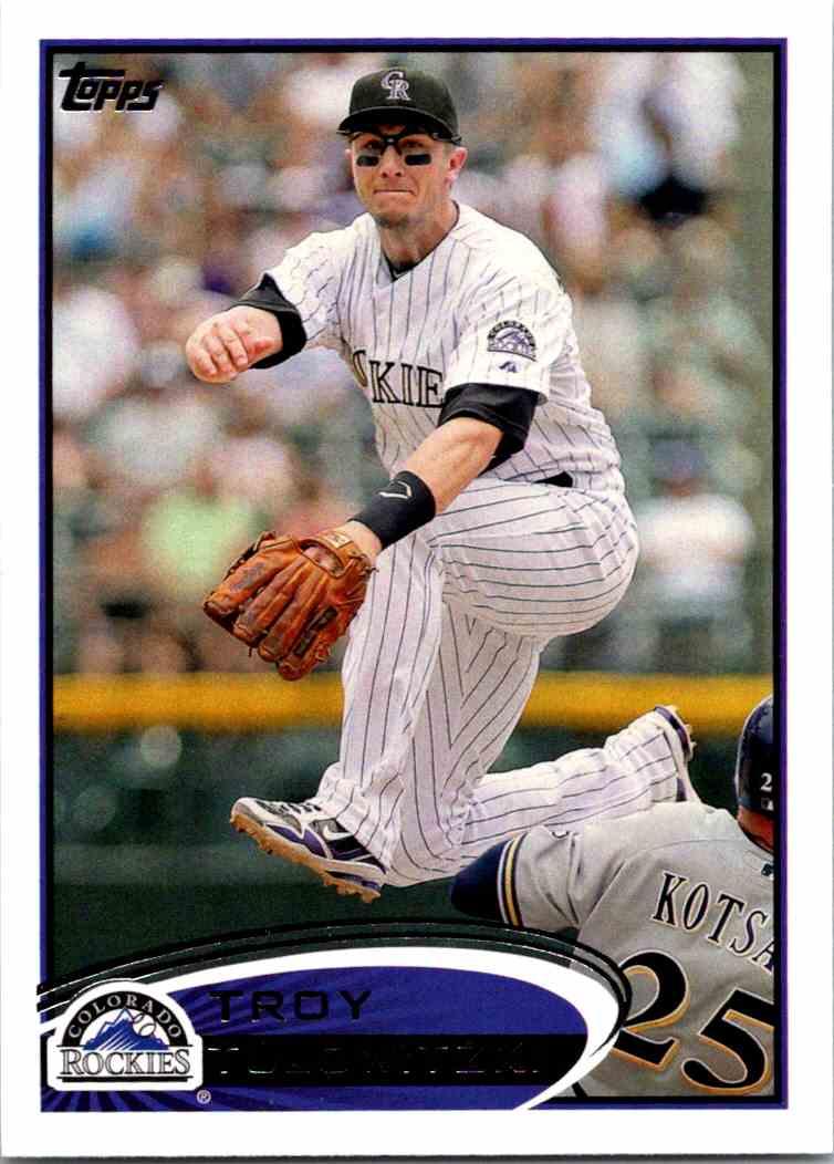 2012 Topps Baseball Troy Tulowitzki 140 On Kronozio
